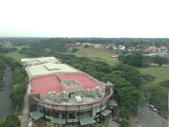 Acacia Hotel Manila: view from our room..