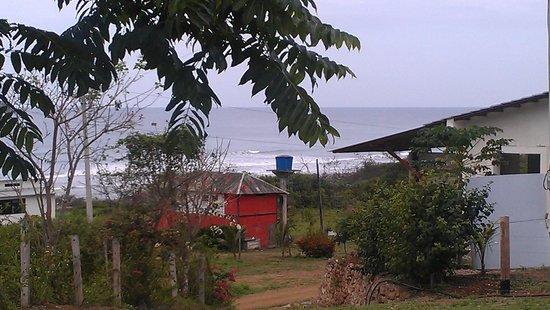 Finca Punta Ayampe: view from cabana