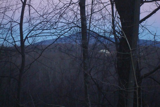 Pilot Knob Inn: View from bedroom
