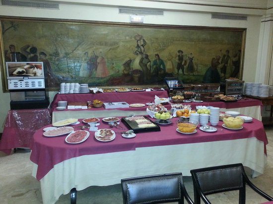Principe Pio Hotel Desayuno