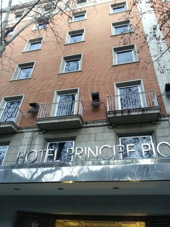 Principe Pio Hotel : Fachada principal