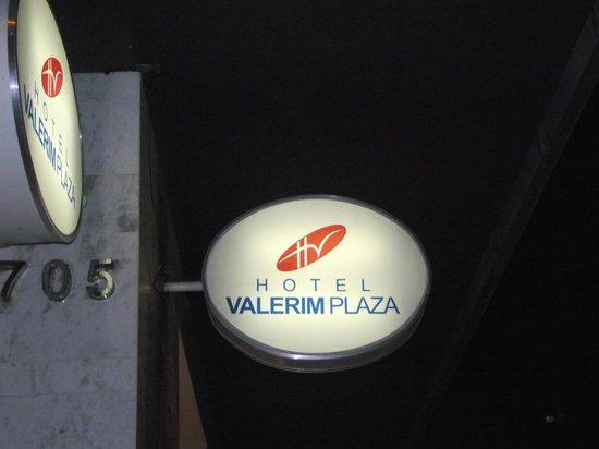 Hotel Valerim Plaza: Recordação pois estava de Lua de mel