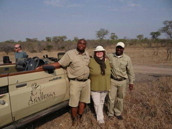 Arathusa Safari Lodge: the Dream Team - Roy and Derrick