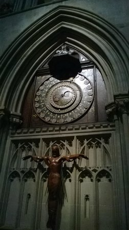 Wells Cathedral: The famous 600 year old clock