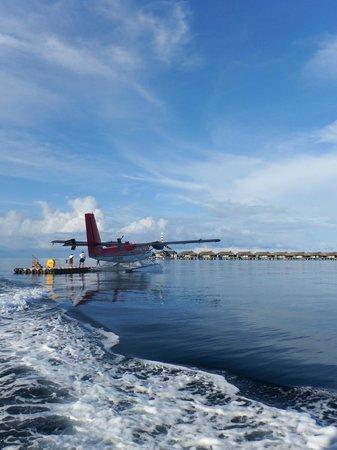Anantara Kihavah Maldives Villas: La llegada