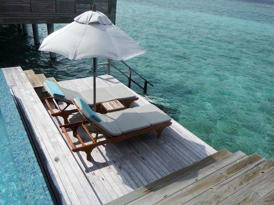 Anantara Kihavah Maldives Villas: Lounge