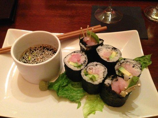 LA FERME : Sushi in Alex...YES!!!
