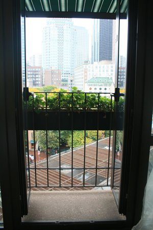 Bostonian Boston: View from inside the room