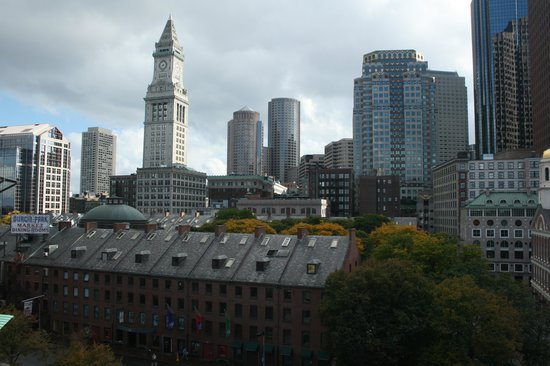 Bostonian Boston: View from balcony