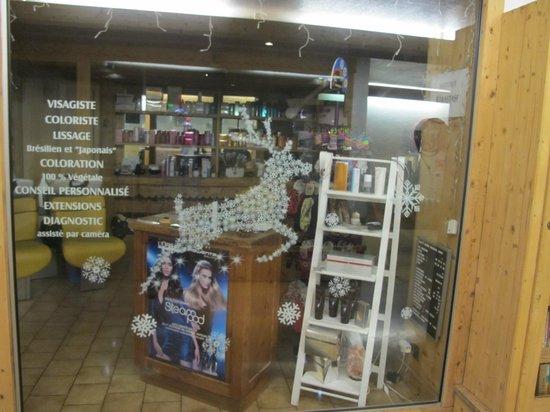 Maeva Résidence Le Mont d'Arbois : Salon fryzjerski w hotelu