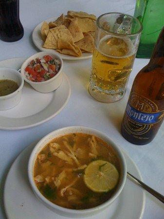 El Meson del Marques: The soup