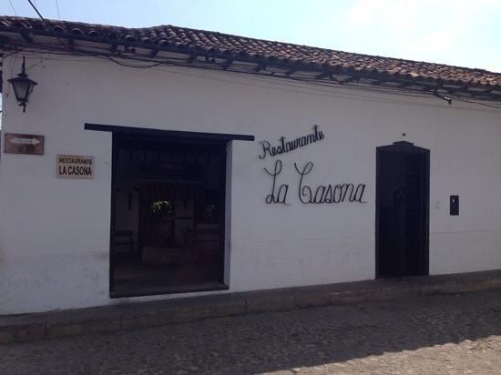 La Casona : Restaurant façade