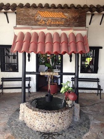 La Casona : Main entrance