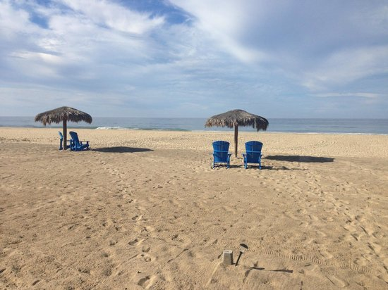 Rancho Pescadero : Have a seat on the beach