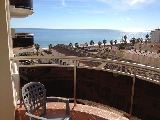 Hotel & Spa Peniscola Plaza Suites: Vistas habitación
