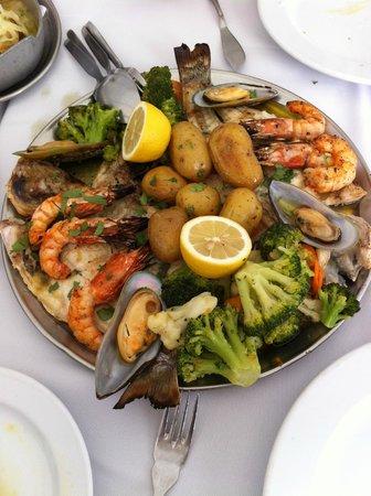 Restaurante Mar do Inferno : Frutos do mar, sempre frescos