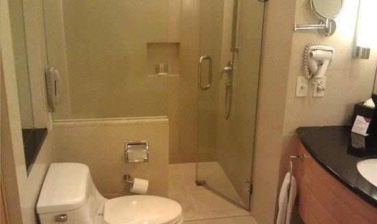 Crowne Plaza Manila Galleria : huge bathroom