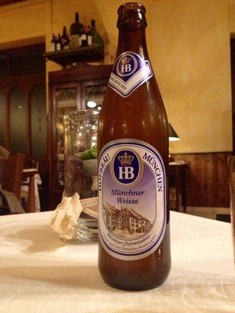 Ristorante A' Luna Rossa: Birra!!