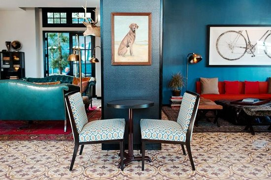 Palihouse West Hollywood: Lobby Lounge
