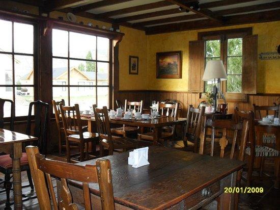 Patagonia Rebelde: Desayunador