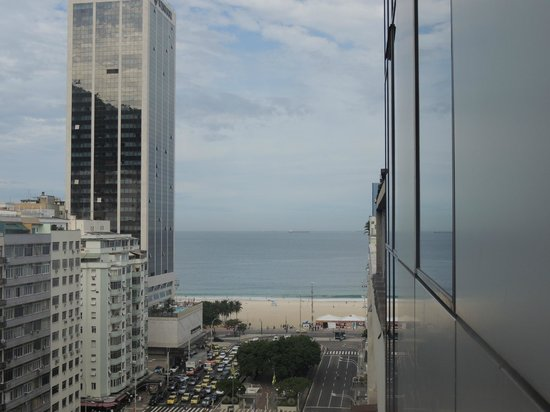 Windsor Plaza Copacabana Hotel: Vista do Hotel.