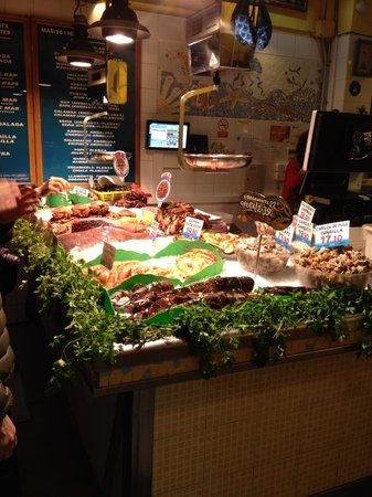 La Paradeta Sagrada Familia: Pesce freschissimo
