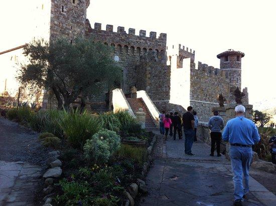 Platypus Wine Tours: Castello di Amarosa