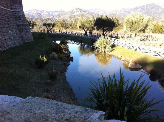 Platypus Wine Tours: View from Castello di Amarosa