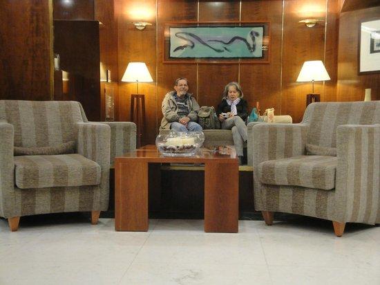 Hotel Sant Angelo: Recepción