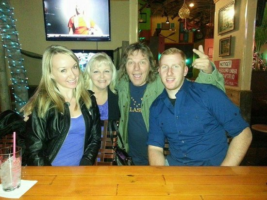 Marley's: Tiff, Mel, Al, and Sean...Marleys makes it FUN!