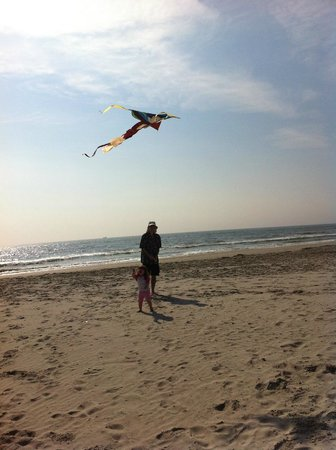 Reges Oceanfront Resort: the beach perfect for kite flying