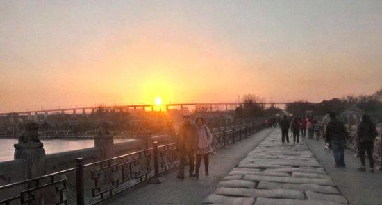 Lugou Qiao (Marco Polo Bridge): Sunset on the Lugou Bridge