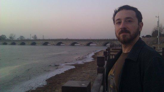 Lugou Qiao (Marco Polo Bridge): Daen at the Marco Polo Bridge