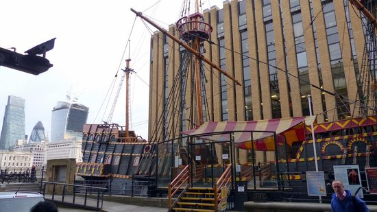 Golden Hinde II  - replica of Sir Francis Drake's ship