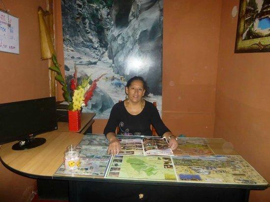 Erikas Hostel Cusco: recepcion