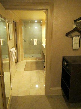 Treasure Island - TI Hotel & Casino : Bathroom #2 with shower