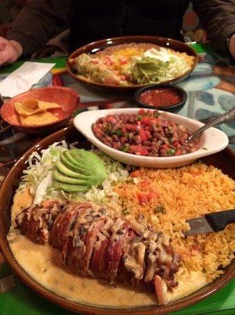 Fiesta Mexicana: yummy dinner