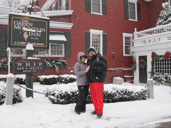 Green Mountain Inn: Let it snow!