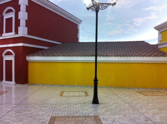 Villaggio: just outside the mall
