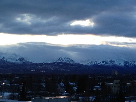 Hilton Anchorage: looking to the North from downtown Anchorage.