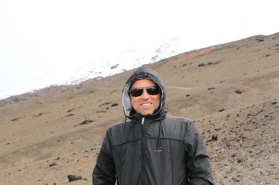 Cotopaxi Volcano: Vulcão Cotopaxi... até onde pude chegar...