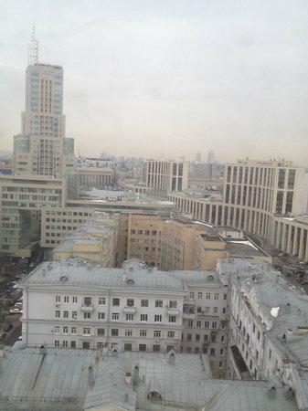 Hilton Moscow Leningradskaya: Вид