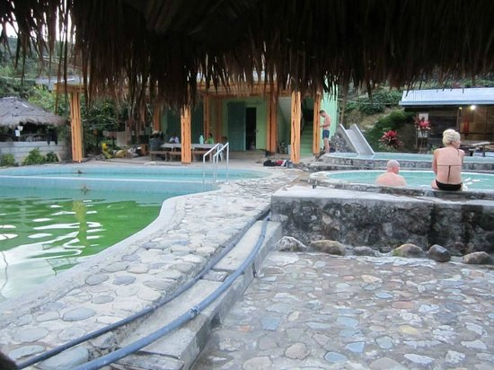 Bontoc, Filippinene: The Hot Spring Pools