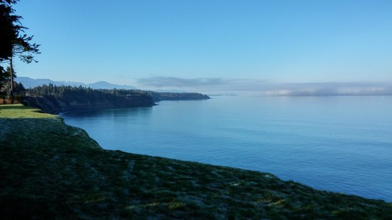 Sea Cliff Gardens Bed & Breakfast: Your view to the west