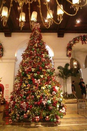 The Manila Hotel : Christmas Tree