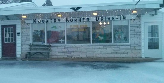 Kountry Korner Drive-In: A Snowy Day