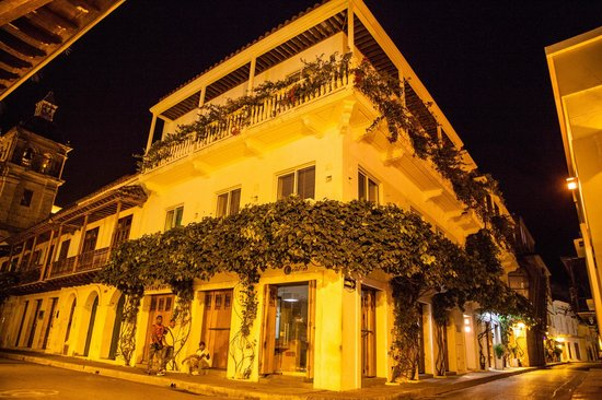 Casa Claver Loft Boutique Hotel: casa claver & our 2nd floor balcony