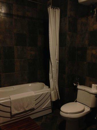 Artisan Boutique Hotel : Updated bathroom