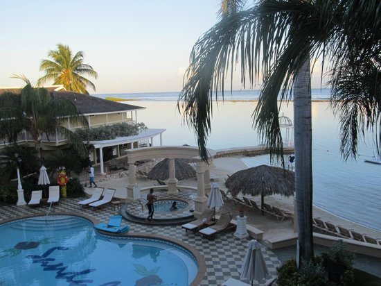 Sandals Royal Caribbean Resort and Private Island: View from Room early evening