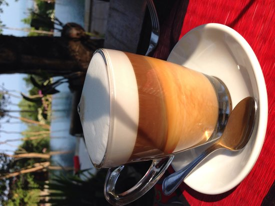 Pagoda Rocks Boutique Guesthouse: Coffee heaven